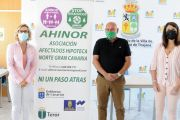 Asociación de Afectados por la Hipoteca Norte (Ahinor) ha visitado el ayuntamiento de San Bartolomé para presentar su iniciativa