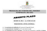 Abierto del Plazo para el Programa de Turismo del Imserso