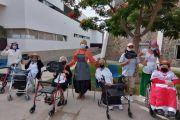 La Concejalía de Mayores de San Bartolomé de Tirajana celebra el Día de Canarias con los usuarios
